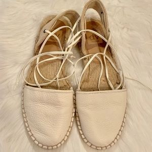 Dolce Vita lace up espadrille